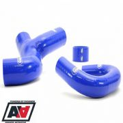 Intercooler Pipe Samco Blue Hose Kit Subaru Impreza V5 V6 WRX 99 To 2000
